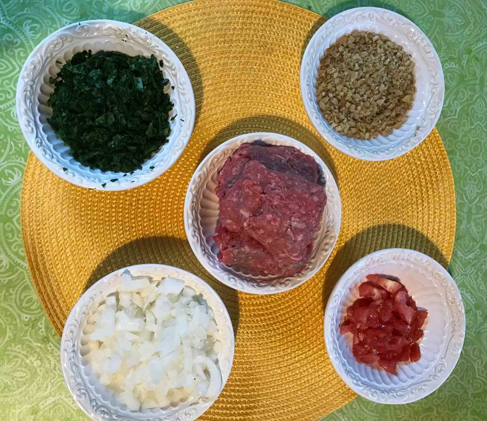 GrannyKeto.com Recipes: Ingredients for Kefte (Kofta)