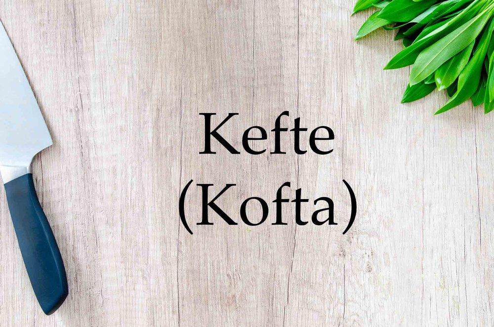 GrannyKeto.com Recipes: Kefte (Kofta)