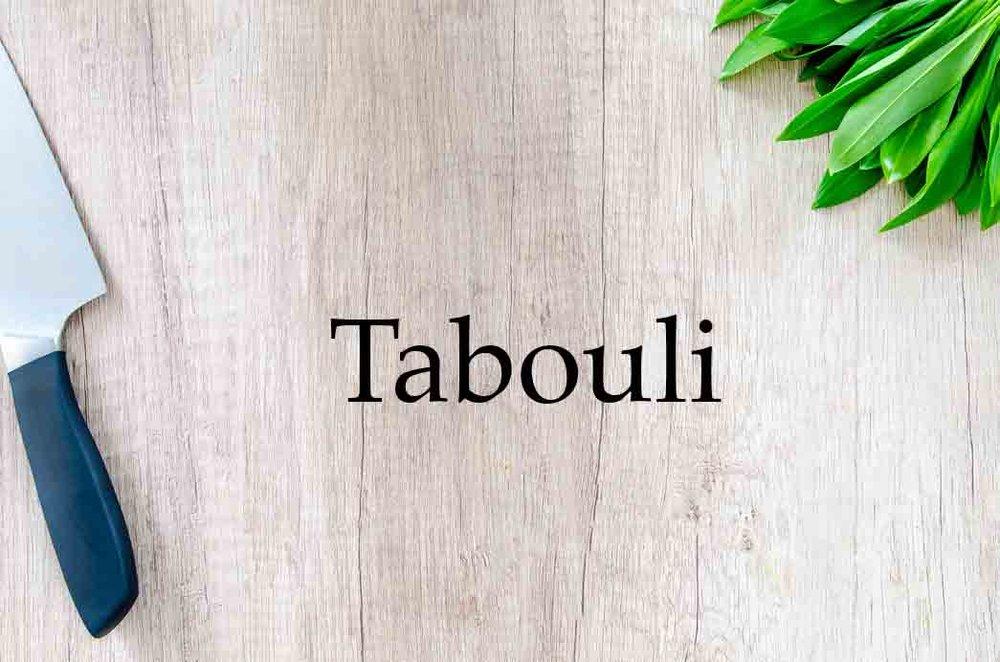 Grannyketo.com Recipes: Tabouli