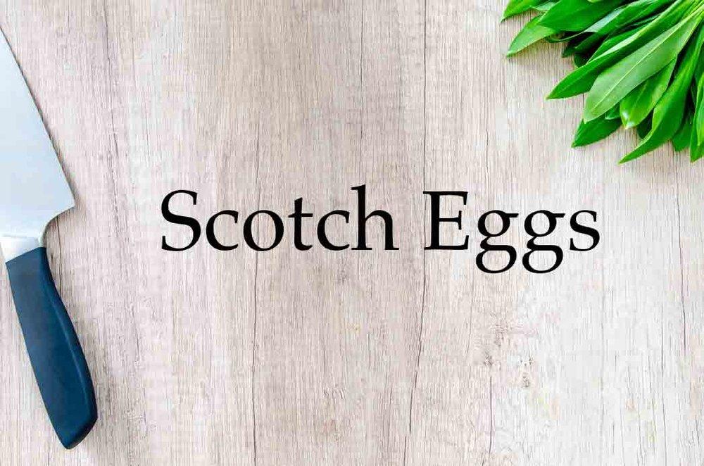 Granny Keto Recipes: Scotch Eggs
