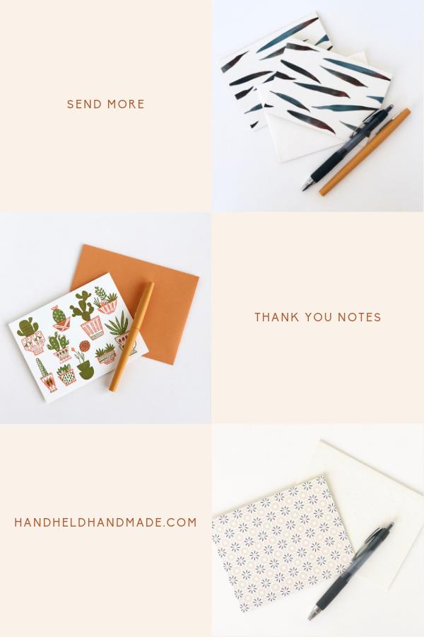 Send more thank you notes