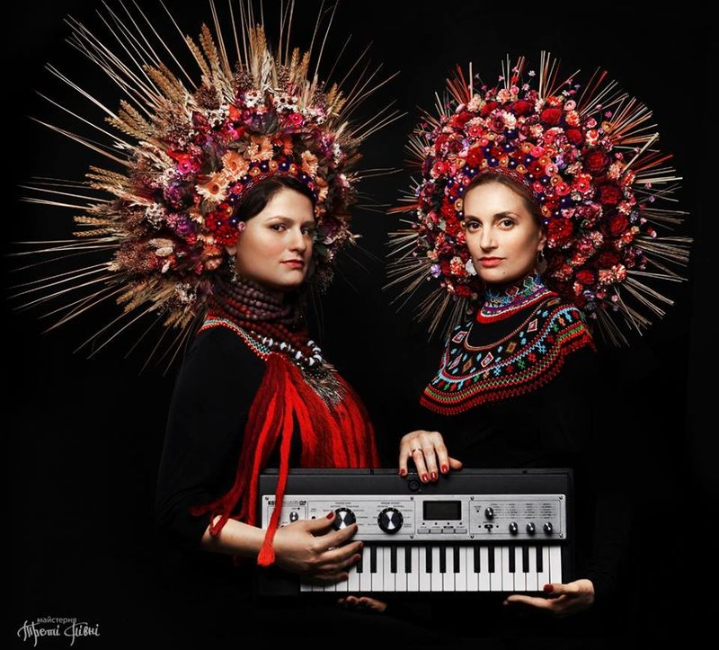 Crowns made for the electro-jazz band Dagadana. (Photo:  Third Roosters / Треті Півні )