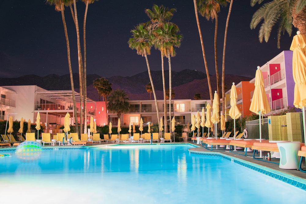 Saguaro Hotel, Palm Springs, CA