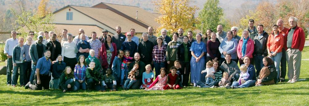"2013: ""Ya'll Come"" Gathering at Platte Clove Bruderhof Community in upstate New York."