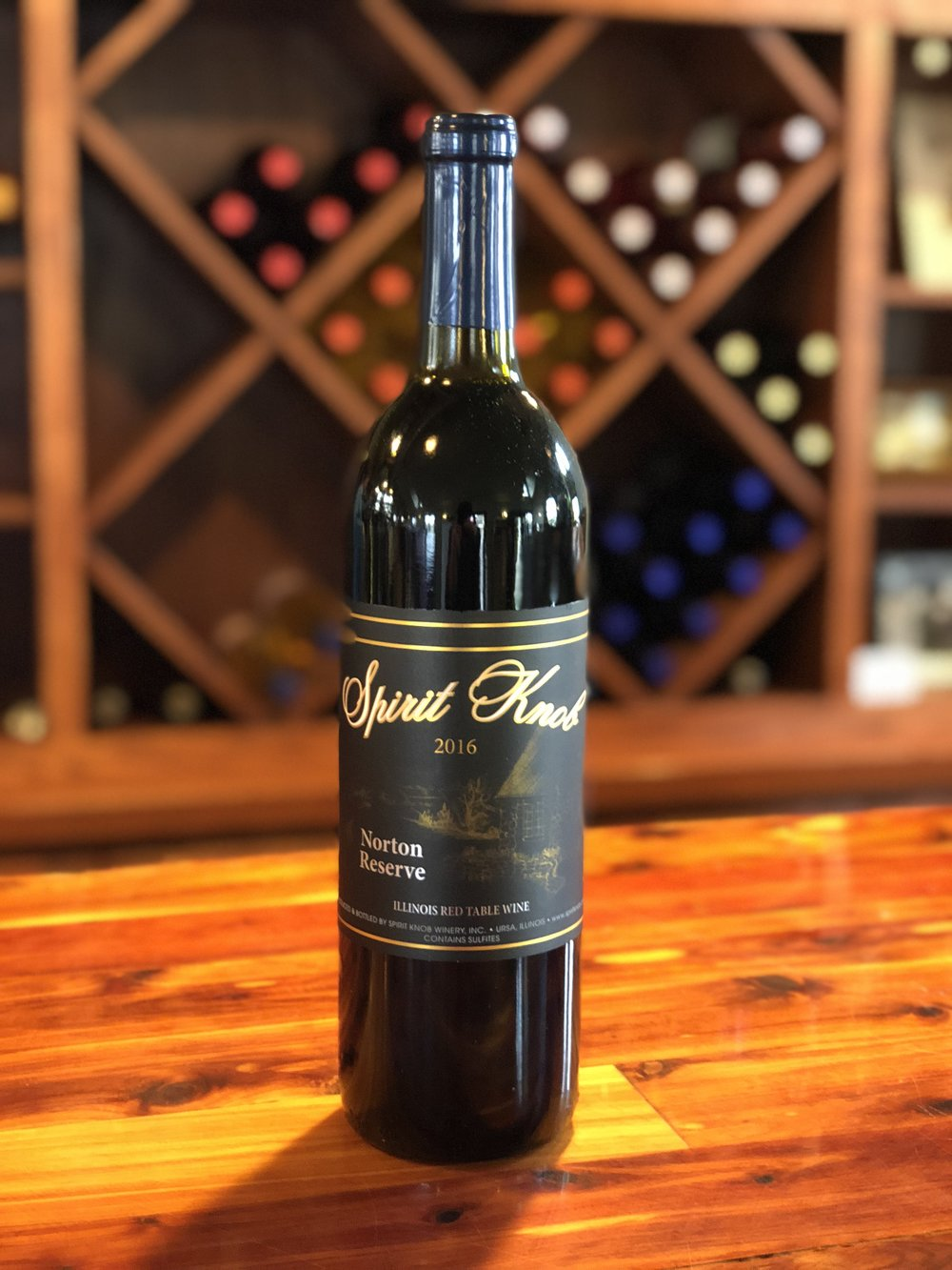 Norton Reserve - Our Fullest bodied dry red with good tannin structure.  Pairs well with a good steak.Click here to buy now!