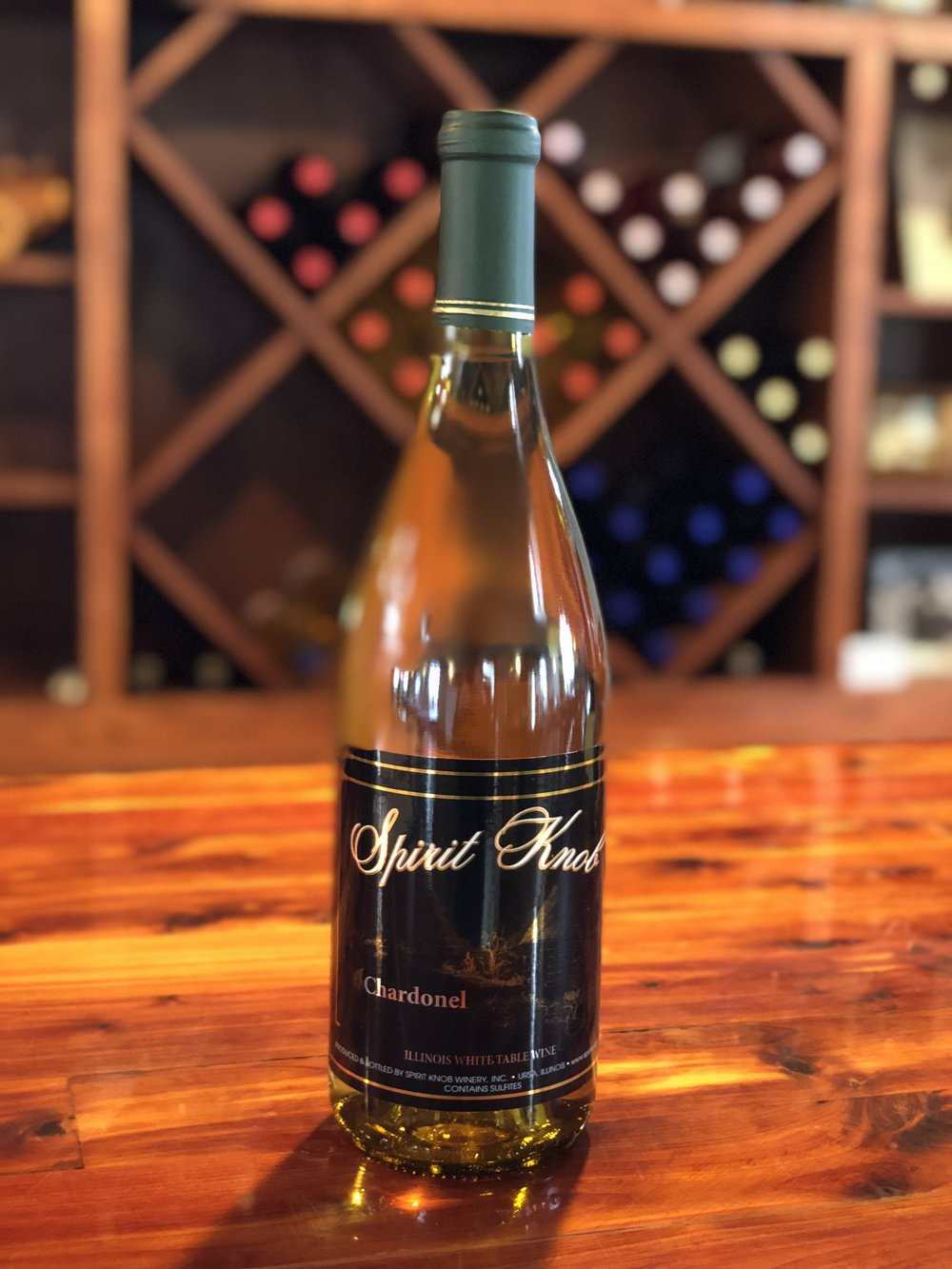 Chardonel - Dry with flavors of pear, grapefruit, and granny smith apples. This wine is lightly oaked.Click here to buy now!