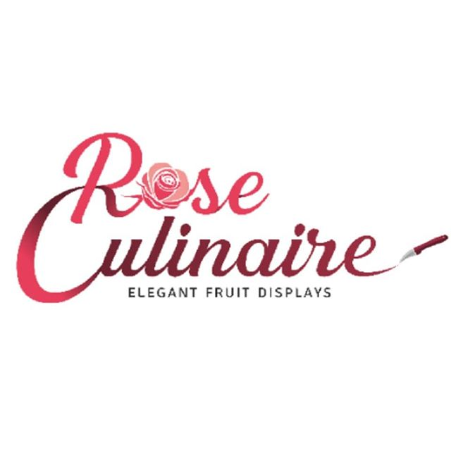 Introducing our new logo! We will be making some re-branding efforts the next few months for a fresh new look! So appropriate for our 100th post!  Thanks to David @visualedge.ro for your great work! We love it!  #logo #newlook #branding #rose #marketing #roseculinaire #elegant #fruitdisplays #loveit #💯