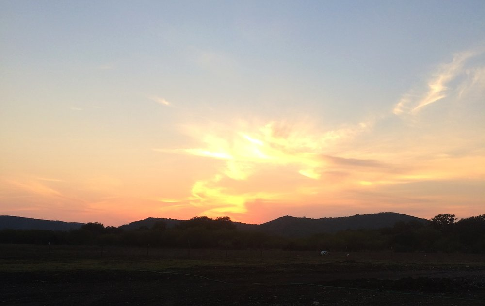 Texas Hill Country Sunset | Photo Courtesy of Patti Berkstresser &   Friends of the Library