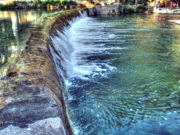 Historic Lombardy Dam at   Rio Bella Resort   | Photo by   William R. Houghton