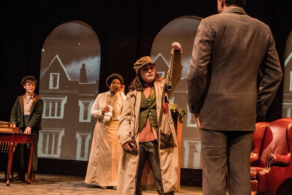 Pockets in Eric Coble's  Sherlock Holmes: The Baker Street Irregulars  at Dobama Theatre   (Photo: Steve Wagner Photography)