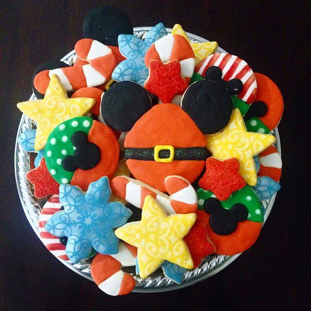 Mickey Mouse Christmas Cookies House Cookies