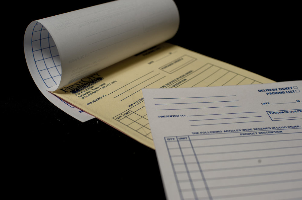 We can customize your carbonless forms to have multiple duplicates to accommodate your business needs.