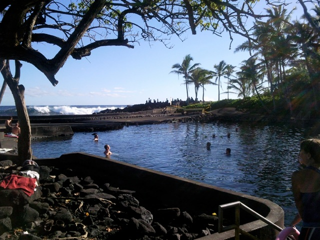 Ahanalui Warm Pond