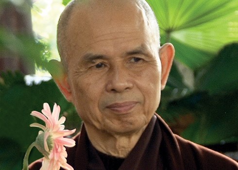 More quotes from Thich Nhat Hanh on peace, love, and mindfulness.