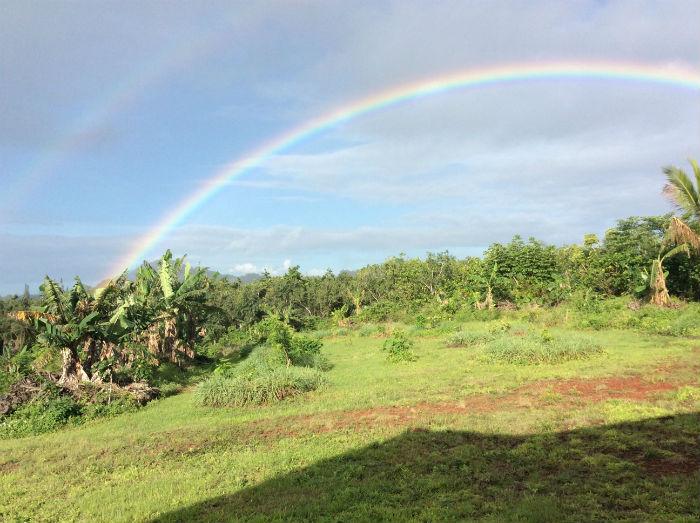 Rainbow, Big Island, Hawaii