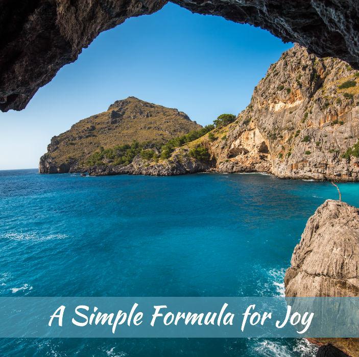 A Simple Formula for Joy