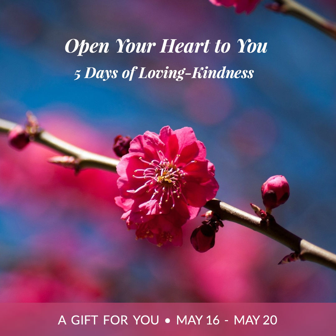 Open Your Heart to You - Free Loving Kindness Course