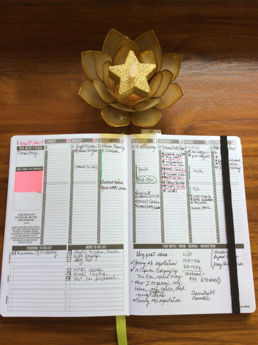 How I Organize My Time, Tasks, and Creative Ideas