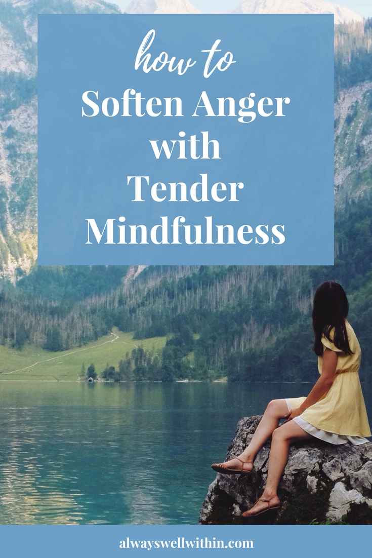 Angry? Try Tender Mindfulness. It works!