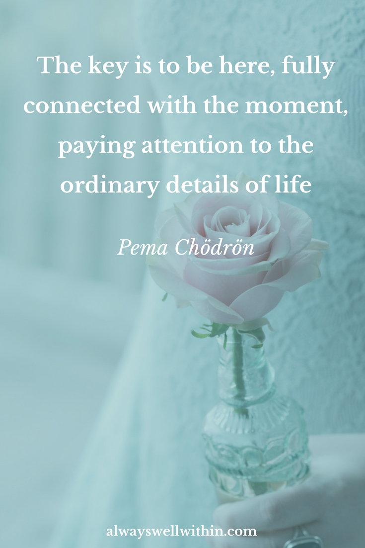 Pema Chodron Quote | Be Here Fully | Mindfulness | Presence | Awareness | Present Moment #pemachodron #pemachodronquote #mindfulness #presence #presentmoment #awareness