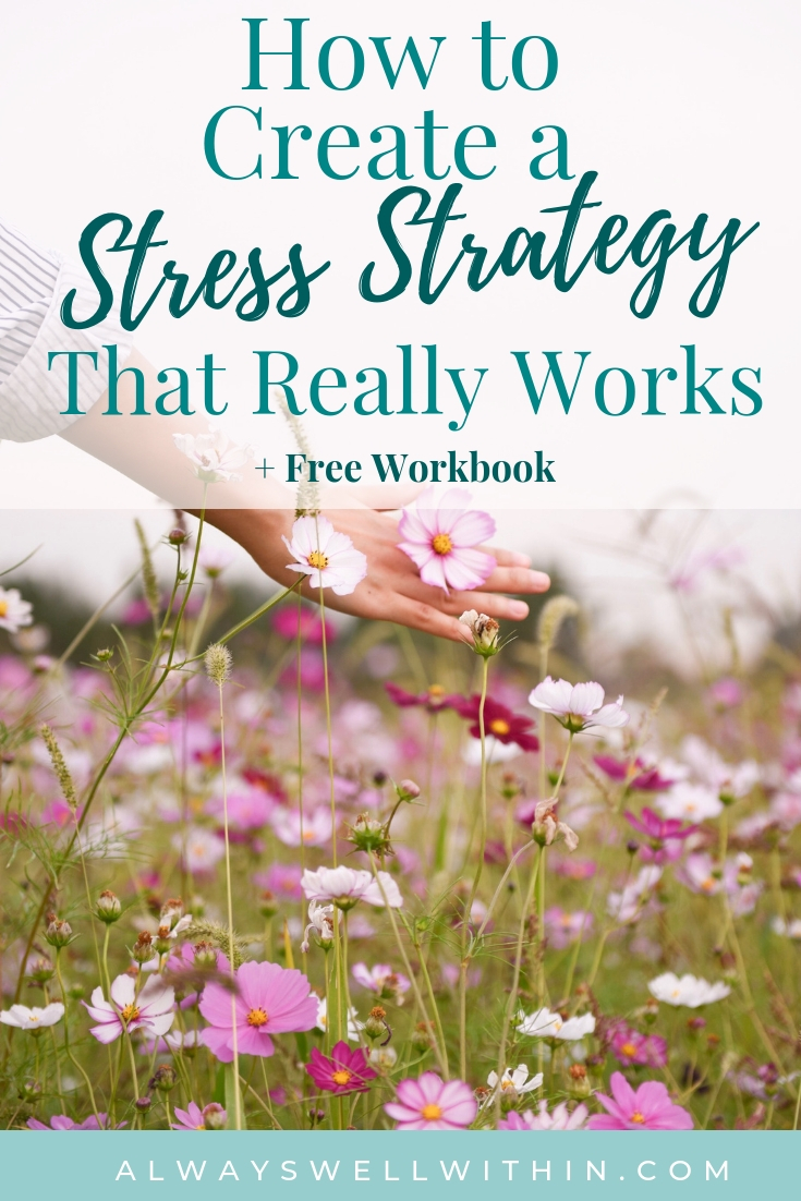 Do you want to feel less stressed, but don't know where to being? Why not start by creating your own stress strategy?  When you have a clear plan, it's easier to follow through. I show you how in 5 simple steps and share 7 habit hacks that will help you conqueror stress and feel more at ease. And you can download the FREE workbook. #stressrelief #stressreduction #stresstips