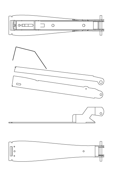 Solidworks replication of the internal parts of stapler