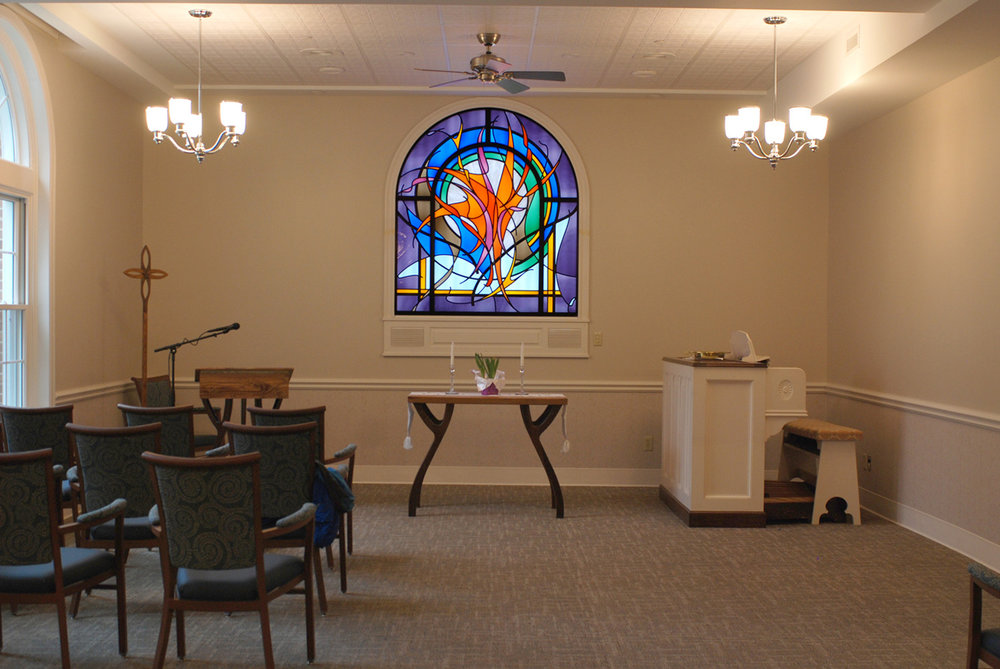 Retirement Facility Chapel / Meeting Space. 65: x 72""