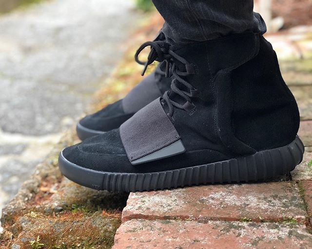 Another shot of a similar pair to our Yeezy Boost 750 that's for sale. DM us for inquiries.