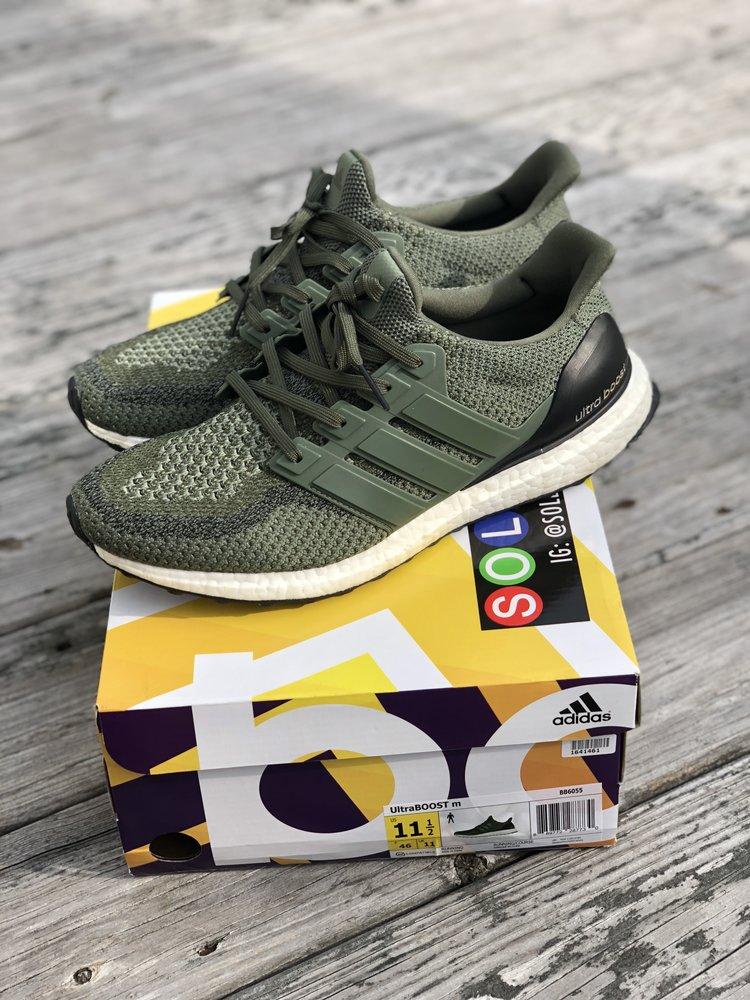 b0511974794cf Adidas Ultra Boost 2.0 Green Size 11.5 — ADSR Kicks