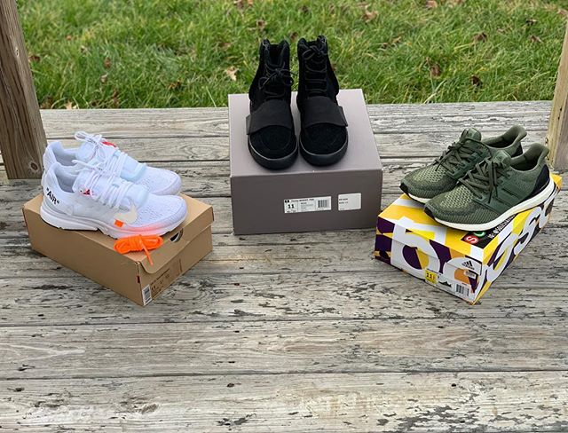 2ce7c46d8 HUGE ADSR KICKS YEAR END SALE! Off White Presto Size 11  450 Turtle doves  Size