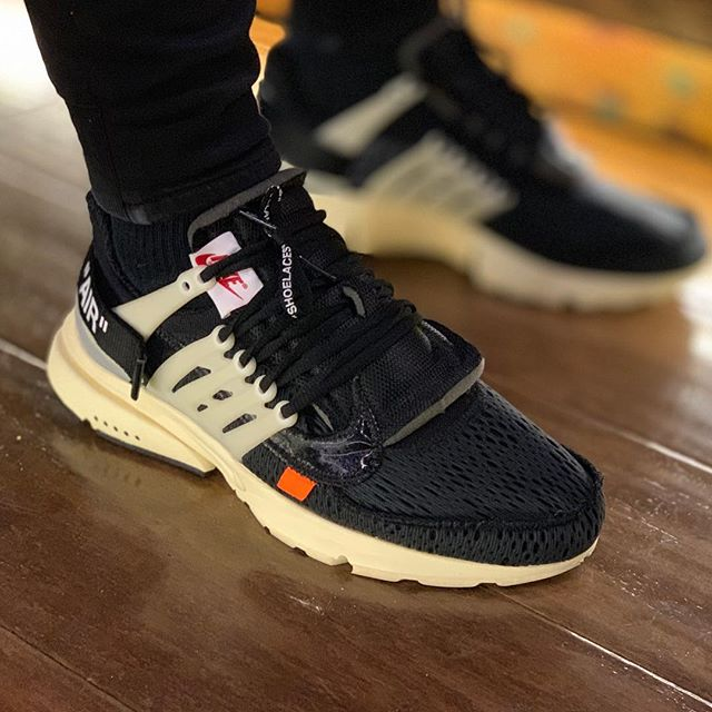 10a7edbb8 What s your  kotd  These Off White Prestos are 🔥🔥🔥!  hypebeast