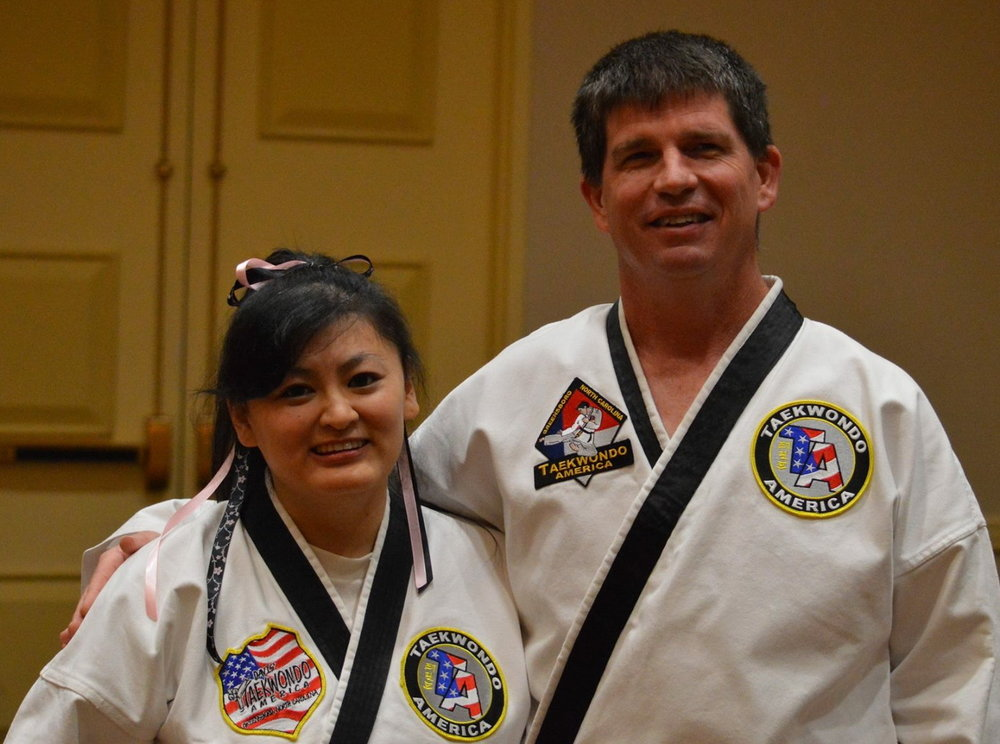 Mr. and Mrs. Catha each have over 20 years of martial arts experience.