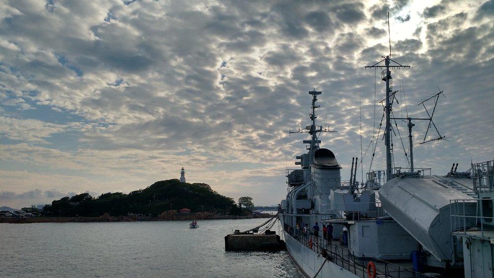 Qingdao Naval Museum, July 2015