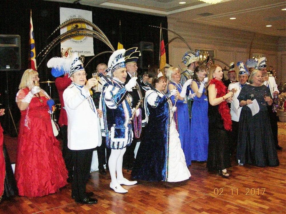 2017 Winter Ball Karneval visitng Prinzenpaare