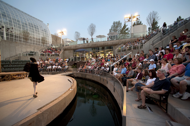 Opening of the Myriad Gardens Water Stage, 2007