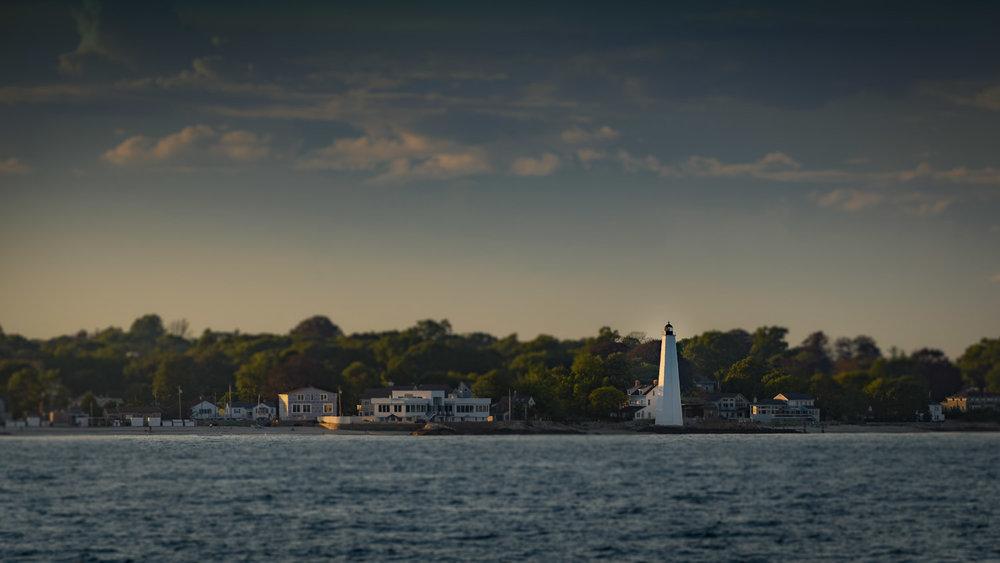 New London Harbor Light