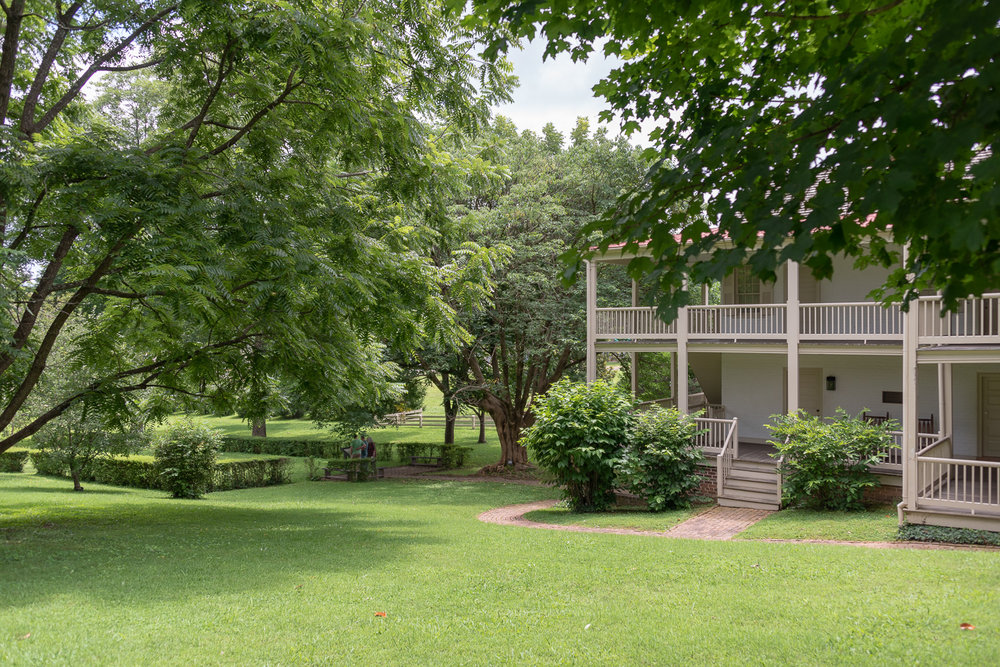 Andrew Johnson owned this home for twenty-four years and lived here both before and after his presidency. It is situated on its original two acre lot.