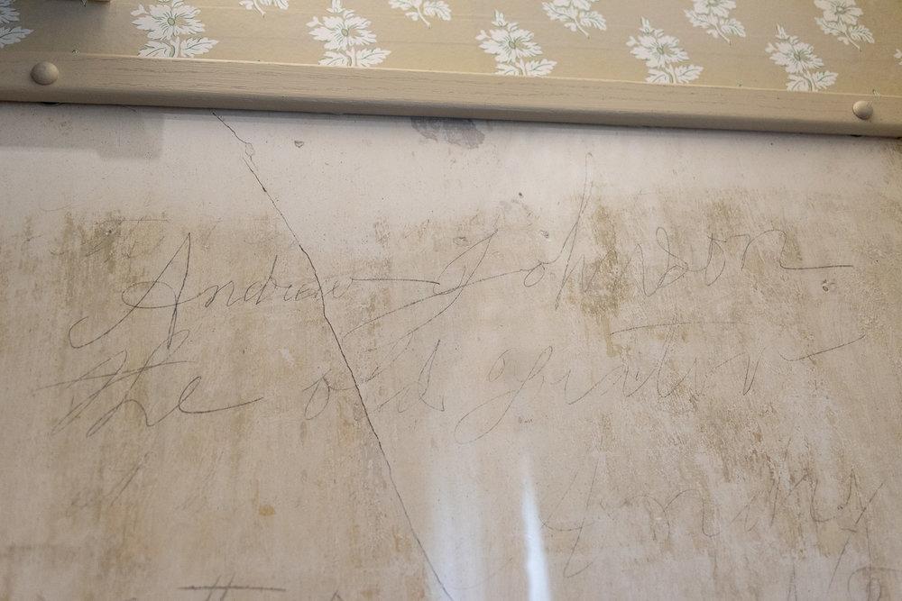Graffiti in the Homestead