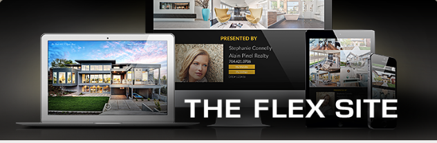 Stand out with the sleek look of the Flex Site