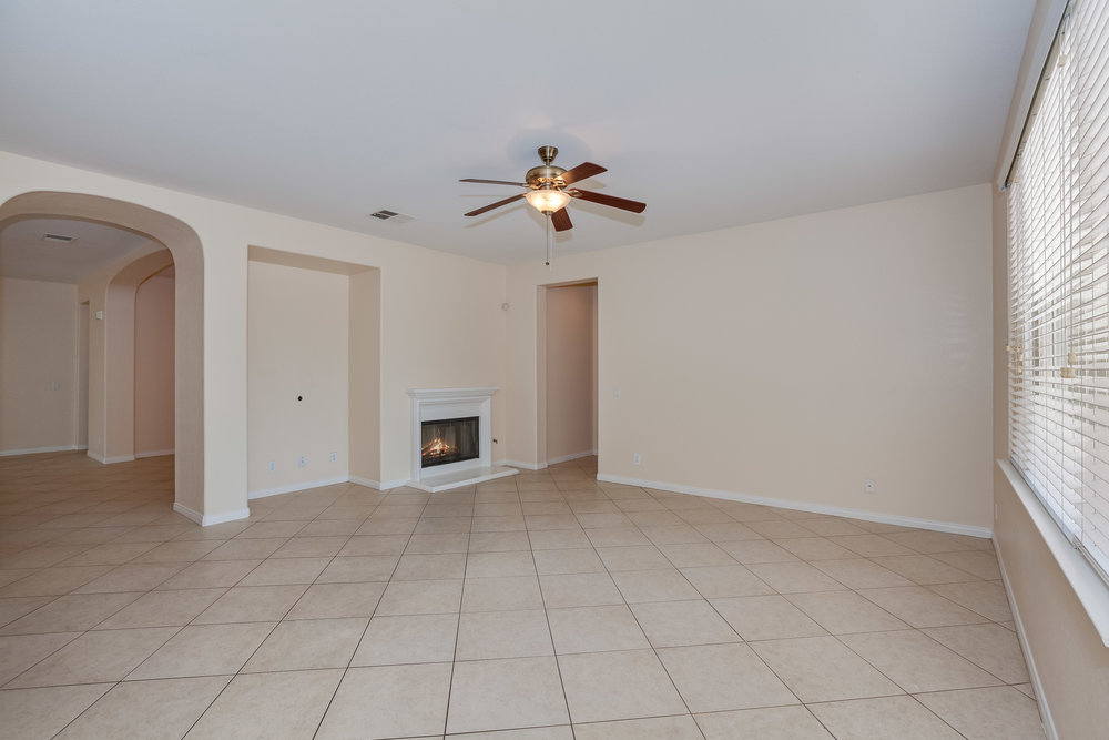 Pre Staged Family Room