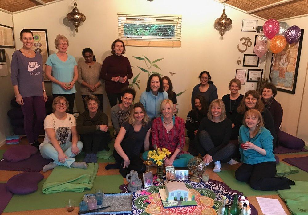 The Yoga Den Students Wallington