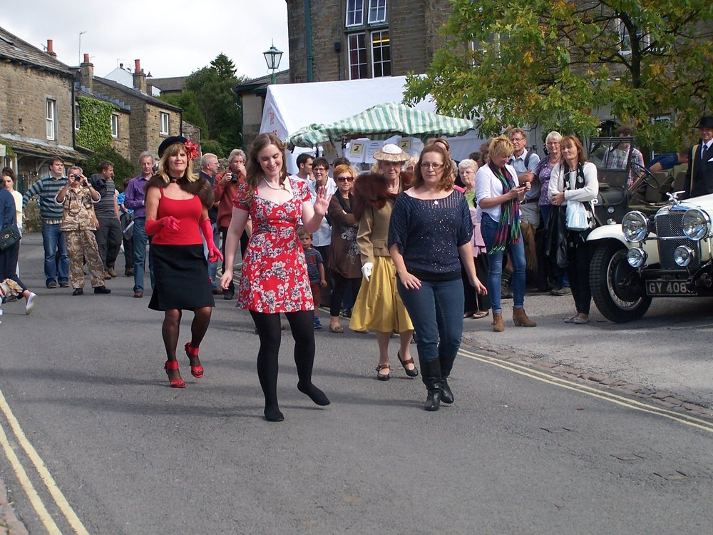 Dancing down the streets of Saddleworth