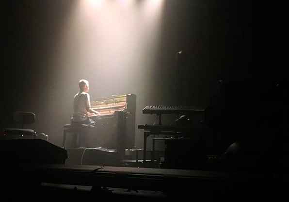 Olafur Arnalds, Assembly Rooms - pic by  Emma Fitzgerald via Instagram @ emu_fitz