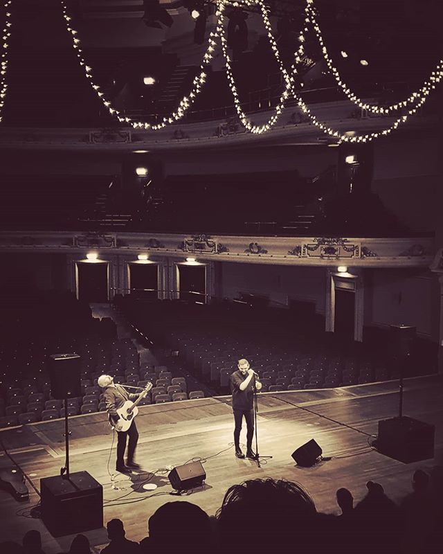 Twilight Sad acoustic set, Usher Hall - pic by   Neil Trippers ‏ @LazyTrippers