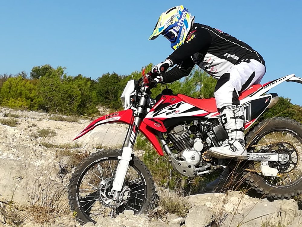The Experienced - Pacchetto Enduro**coming soon