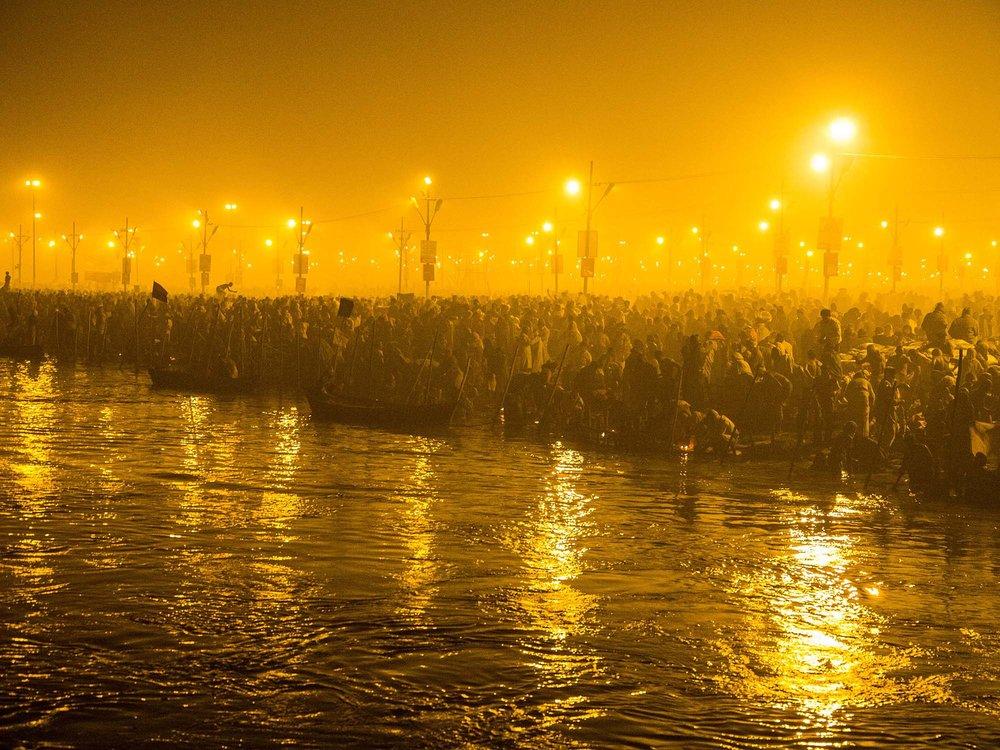 Kumbh Mela - Allahabad, India.