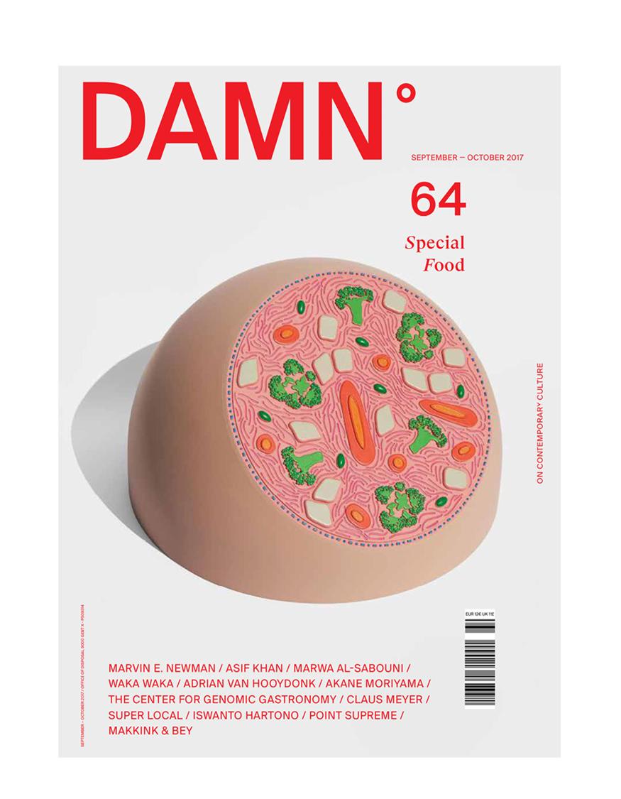 DAMN   MAGAZINE NR. 64 ,Oct. 2017 |p. 134