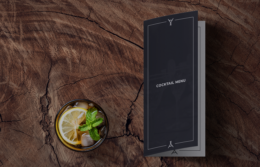science and cocktails menu