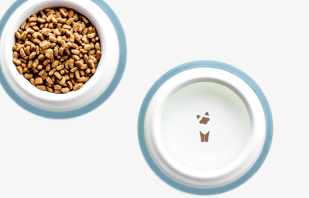 cotton paws bowls