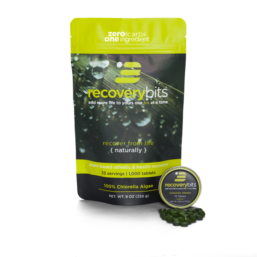 RECOVERYbits - Chlorella Tablets   Discount code: KT (20% off)